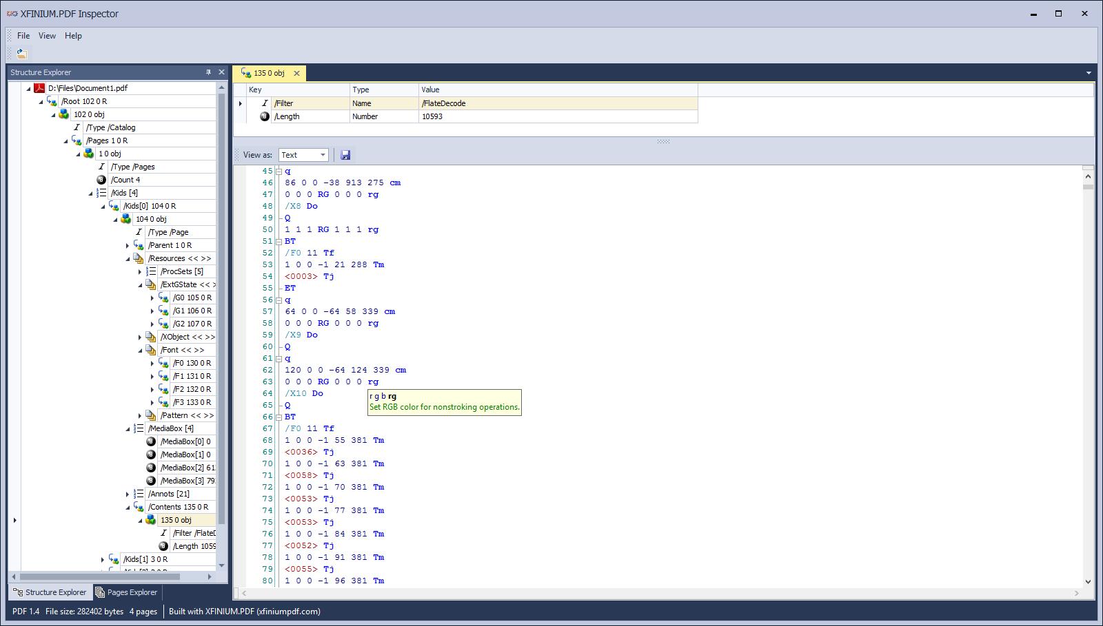 XFINIUM PDF - PDF library for  NET, Windows Forms, ASP NET