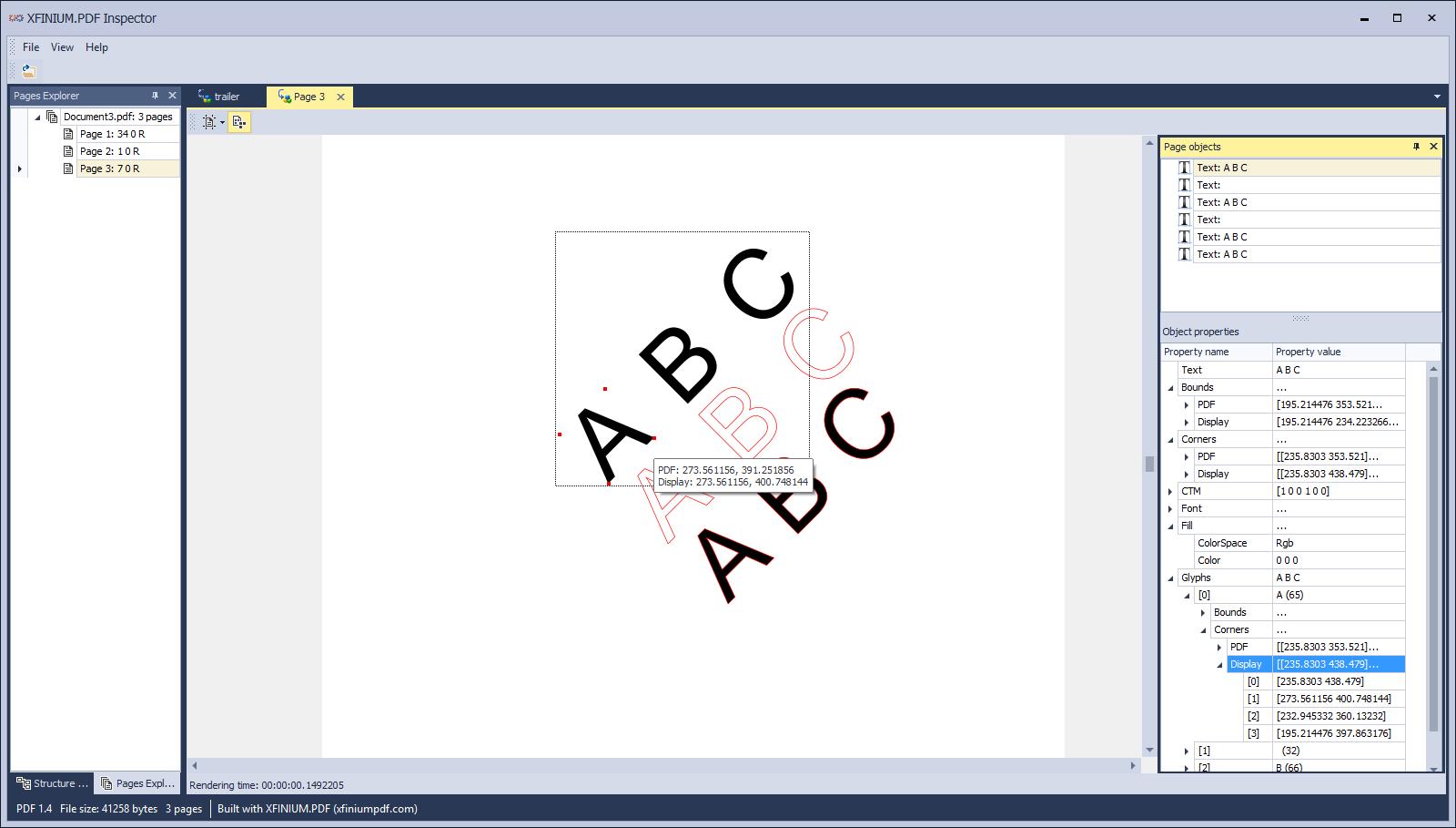 XFINIUM PDF - PDF library for  NET, Windows Forms, ASP NET, WPF